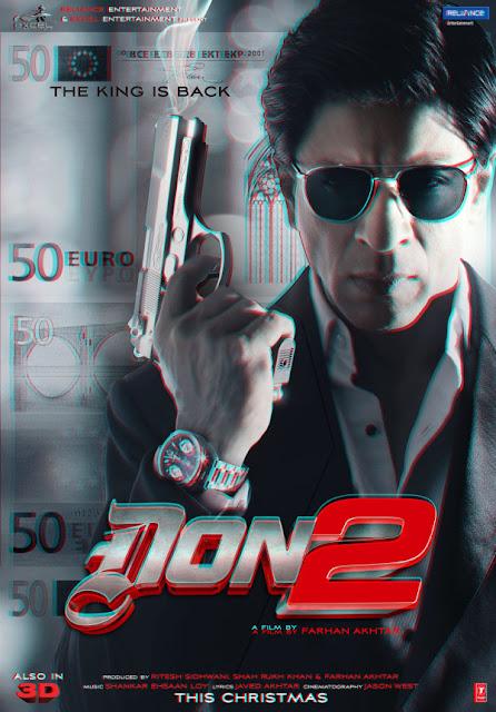 ดูหนังออนไลน์ HD ฟรี - Don 2 (2011) นักฆ่าหน้าหยก DVD Bluray Master