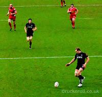 Alun Wyn Jones, Ospreys, Scarlets, rugby, Parc Y Scarlets, derby, rugby, Wales, Welsh, Pro 12