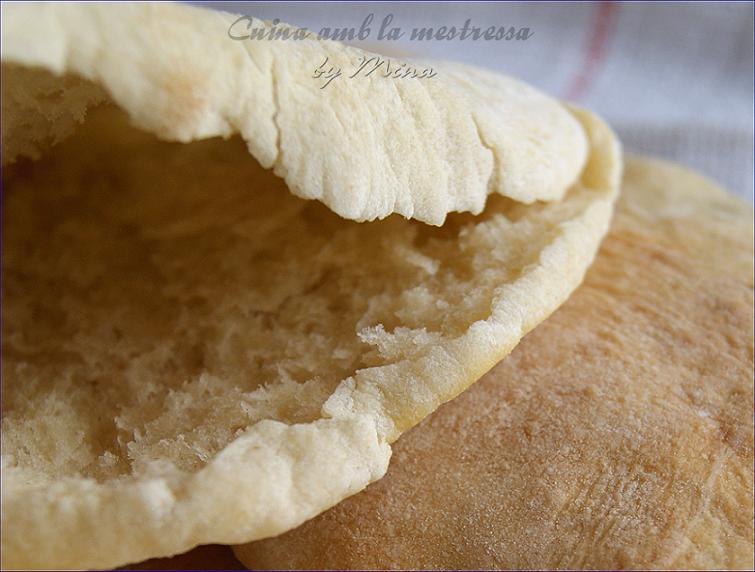 Pan de pita...