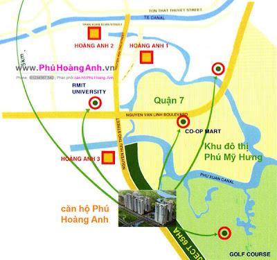 căn hộ phú hoàng anh giai đoạn 1, phu hoang anh, phuhoanganh.org