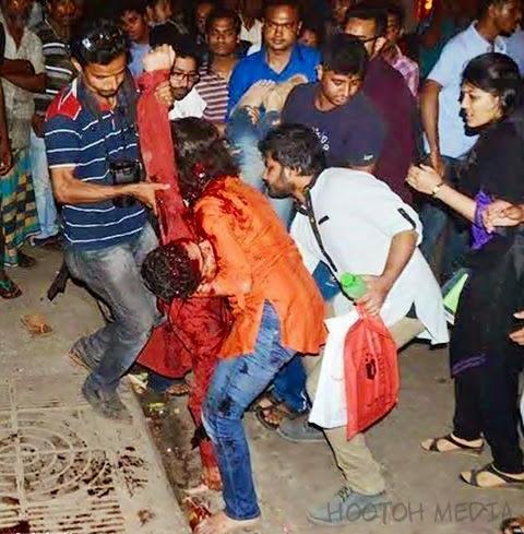 Blogger Avijit Roy Ditetak Hingga Mati