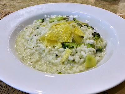 Terra Brasil Restaurante & Choperia: Risotto de Brócolis