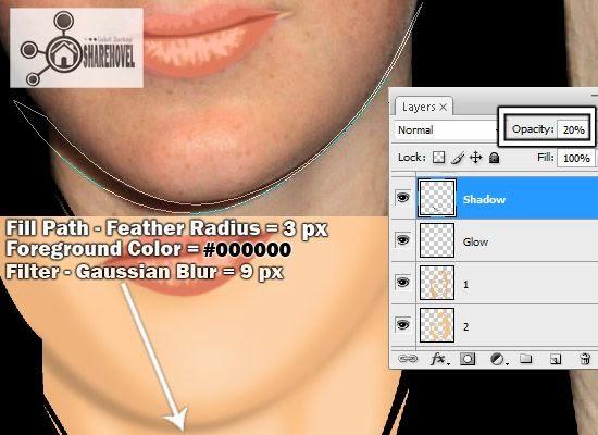teknik tracing bayangan wajah vector menggunakan photoshop - tutorial membuat vector di photoshop - membuat foto menjadi kartun dengan photoshop