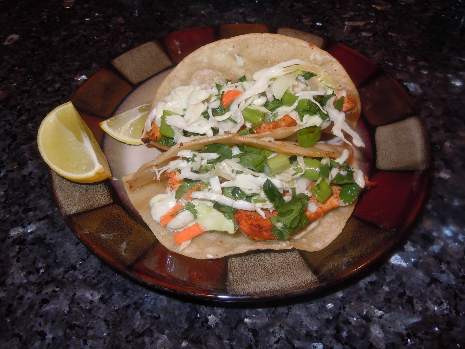 ... Loves To Cook: Chicken Tacos with Avocado Cream Sauce and Lime Slaw