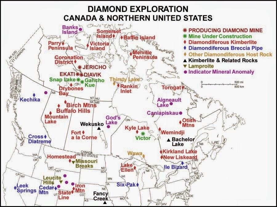 Wyoming Diamond Gemstone Province