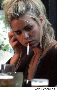 billie piper smoking
