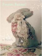 Conejo de Pascuas. Ya se termina el domingo de Pascuas pero no quería dejar . img