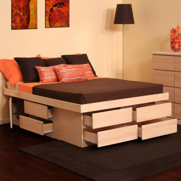 Multi Functional Beds Storage Design Ideas For Small Home Decor
