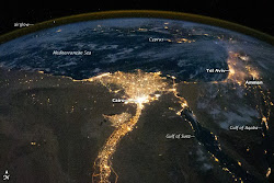Egypt at night