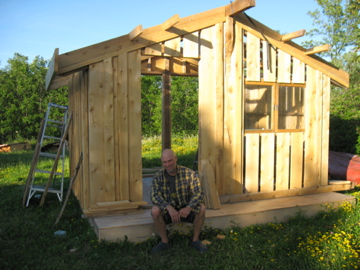 Sweetwater Carpentry Cedar Cabana