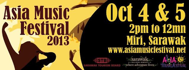 Asia Music Festival 2013 | Miri Sarawak Malaysia Borneo | Eastwood Valley Golf & Country Club