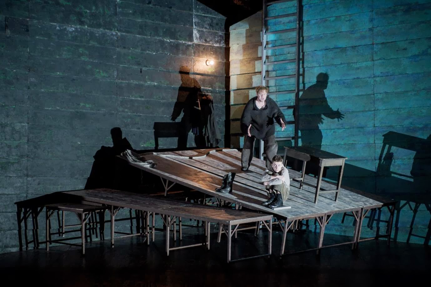 Stuart Skelton in David Alden's production of Britten's Peter Grimes, ENO. Credit Robert Workman