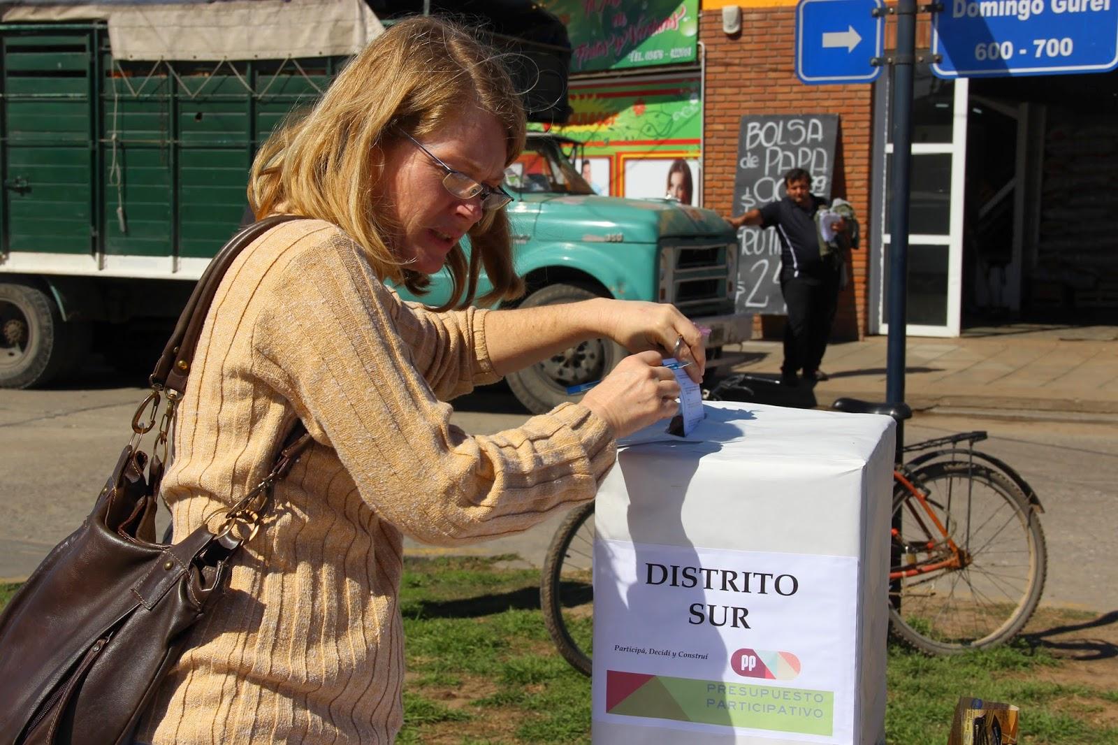 Los sanlorencinos votan proyectos para sus barrios