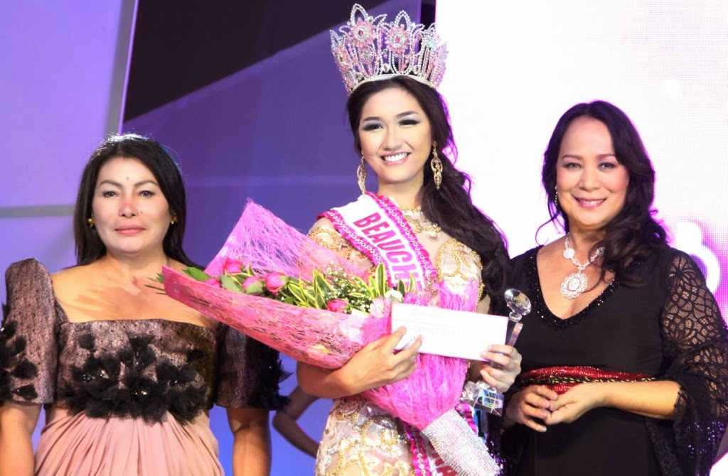 Dagupan Beauty Anne Mabel Ubando Wins In The Very First Miss Beauche