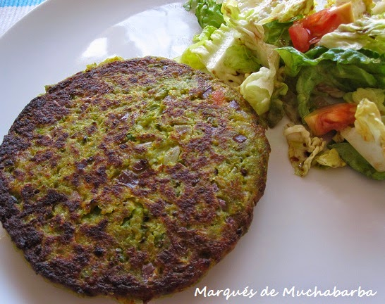 Las recetas del marqu s de muchabarba hamburguesas de - Hamburguesa de verduras ...