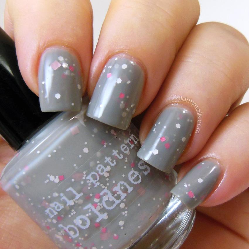 Did My Nails: Nail Pattern Boldness Oodiful