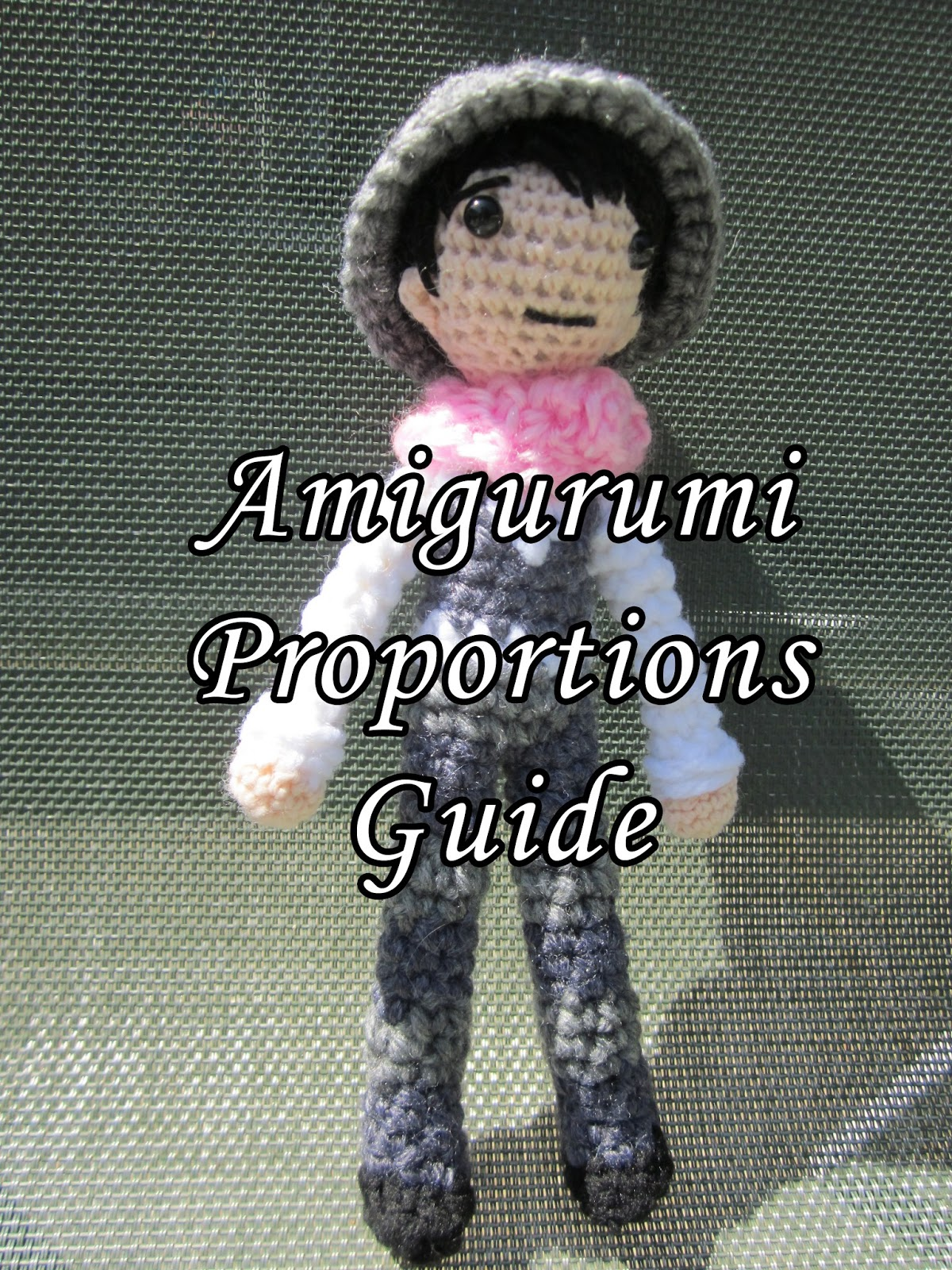Craft Sauce: Guide to Amigurumi Doll Proportions