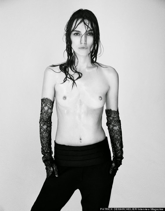 Keira Knightley Stuns In Topless Photo Shoot For Interview Magazine