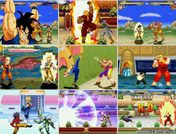 Dragon Ball Z VS Street Fighter III PC