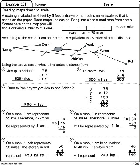 Excel Math: Earhart Math Facts