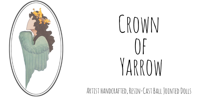 Crown Of Yarrow Dolls