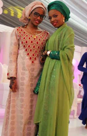 Atiku's daughters wed
