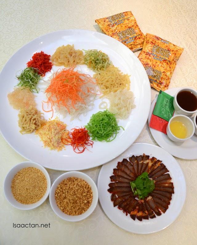 Parkroyal Kuala Lumpur Chinese New Year 2015 Set Menu