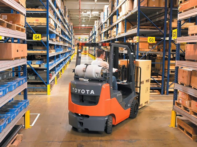 Toyota Gasoline LPG Forklift