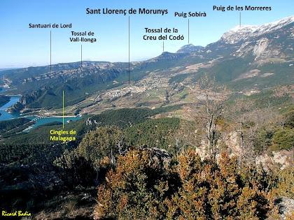 Sant Llorenç de Morunys i muntanyes veïnes. Autor: Ricard Badia