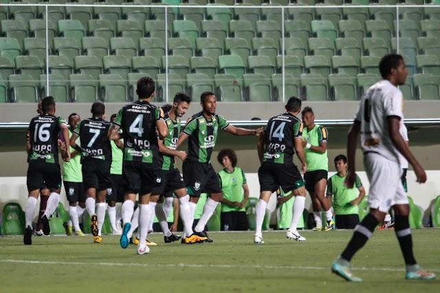 Com facilidade, América-MG vence o Tupi na estreia do Mineiro