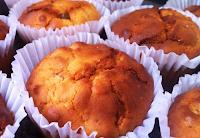 Muffins de Laranja com Banana (vegana)