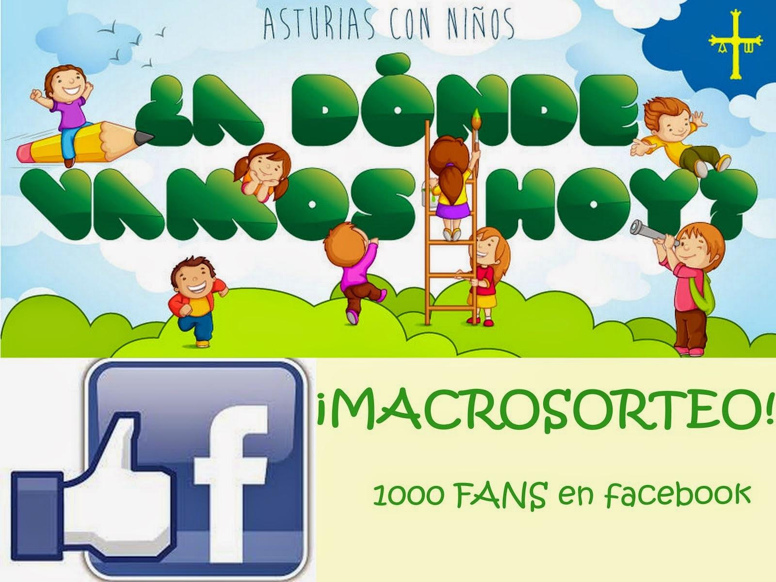 Sorteo 1000 fans en Facebook