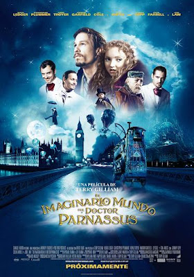 El Imaginario Mundo del Doctor Parnassus | 3gp/Mp4/DVDRip Latino HD Mega