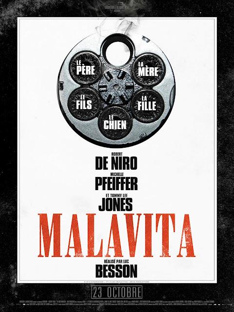 Affiche film MALAVITA