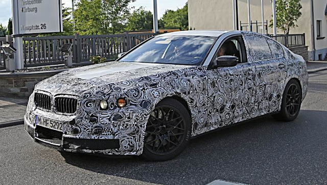 2017 BMW 5 Series Design