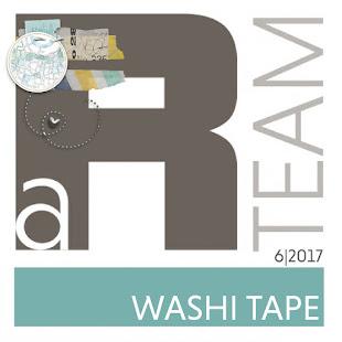 aR-MonatsThema ... WASHI TAPE - 06/2017