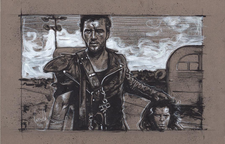 Mad Max, Artwork is Copyright © 2014 Jeff Lafferty