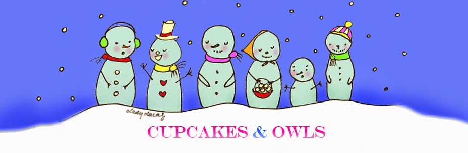Cupcakes + Owls