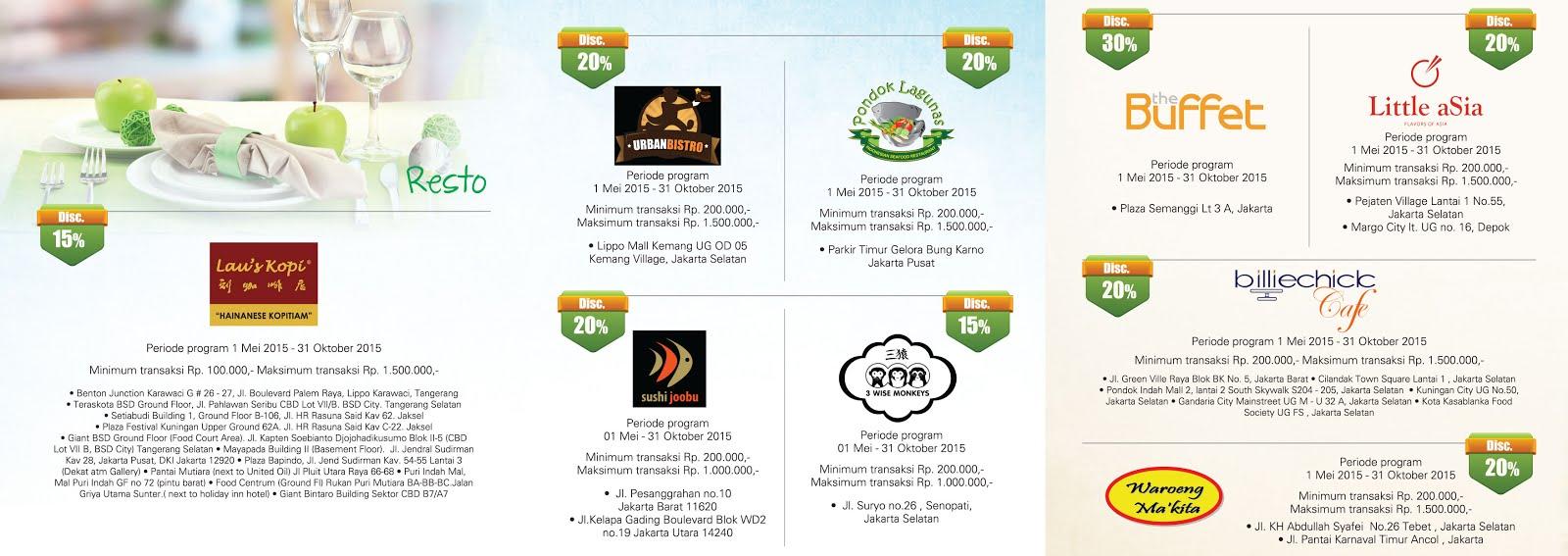Promo Kuliner Hasanah Card