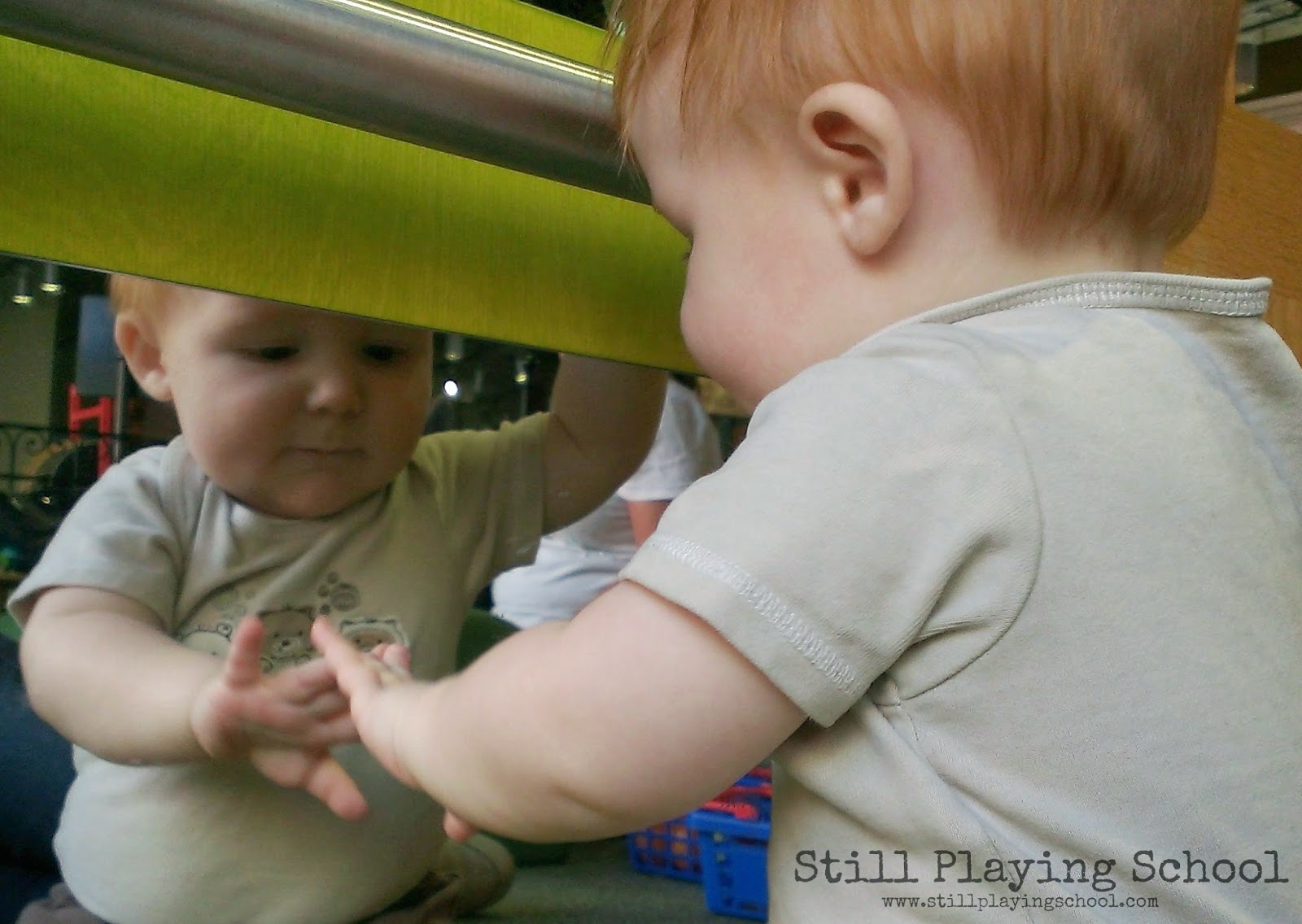 Mirror Play for Babies | Still Playing School