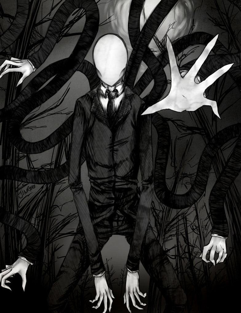 Creepy Slender Man