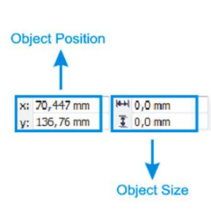 Objek Position dan Objek Size