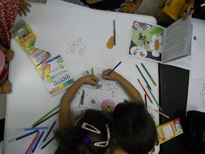 sidegni di fabrizio colorati dai bambini a sestu