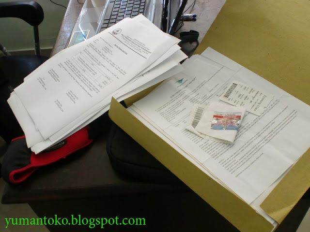 kertas boros pada laporan perjalanan dinas