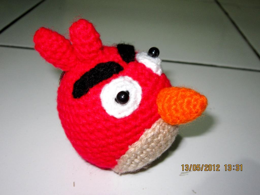Amigurumi Boneka : Am in the morning amigurumi u e angry bird
