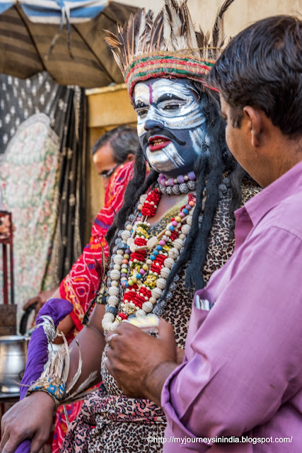 Artist with Lord Shiva Makeup Rajasthan