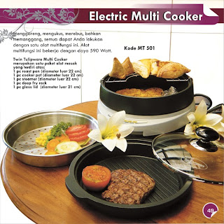 Electric Multi Cooker Twin Tulipware