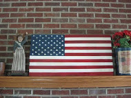 Pottery Barn Flag Copy Cat