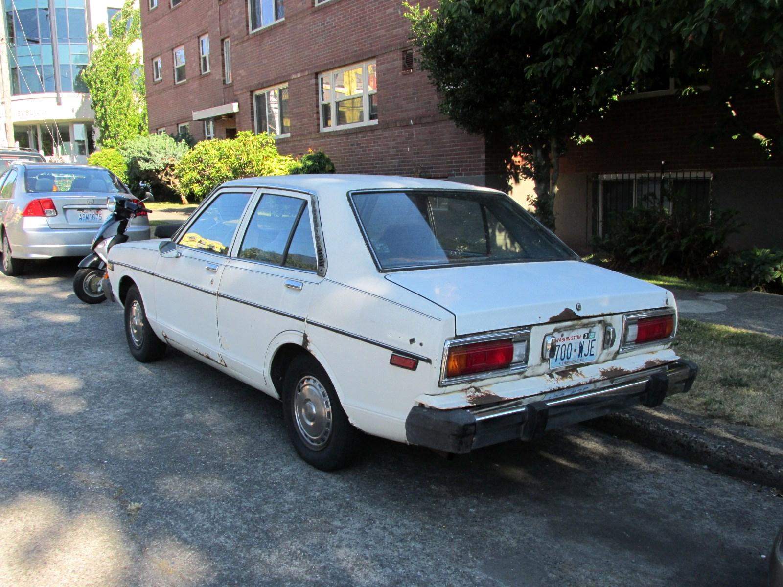 seattle s classics 1979 datsun 210 sedan