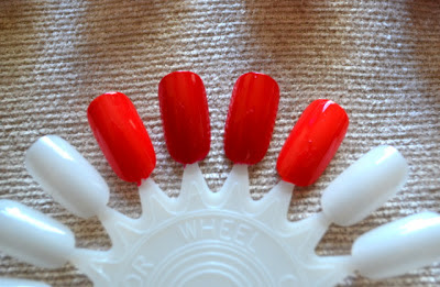 Red Nails Swatches
